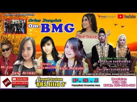 Live Streaming Orkes Dangdut Om. BMG // ARS Audio Jilid 2 (Kaper) // HVS SRAGEN