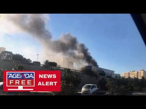 Attack on Libyan Foreign Ministry in Tripoli - LIVE BREAKING NEWS COVERAGE