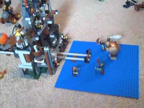 Lego Castle Dwarves Mine Review