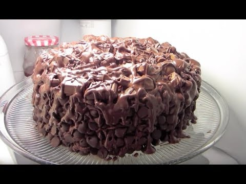 The Chocolate Wasted Cake - Happy Birthday To Me!