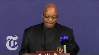 Nelson Mandela Death: President Zuma on South Africa