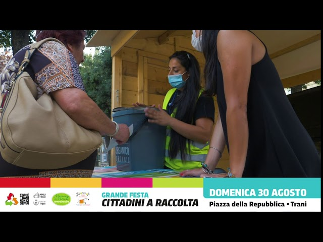 Amiu Trani | 30 agosto Cittadini a Raccolta