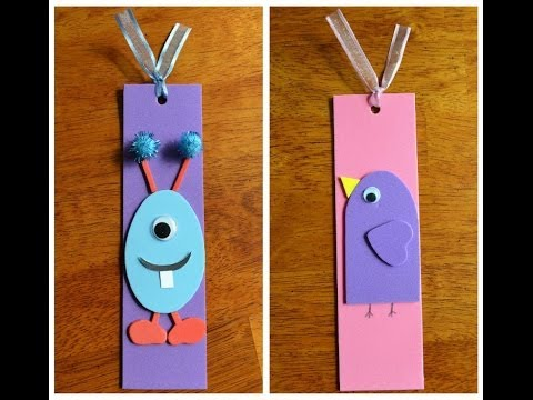 how to make a paper bookmark pokemon