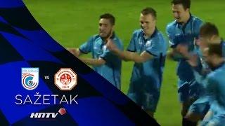 HNTV sažetak: CIBALIA vs SPLIT 1:0 (32.kolo, MAXtv Prva liga 16/17)