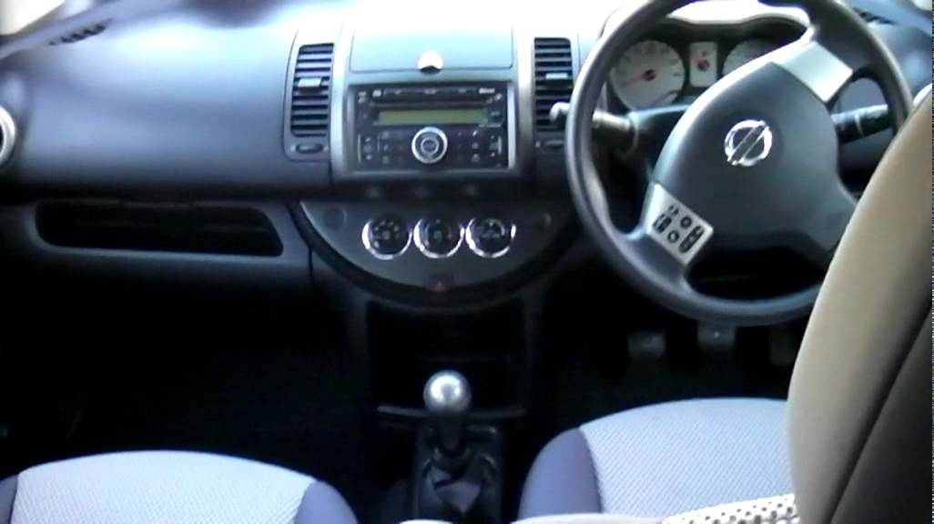 nissan note 39 acenta s 39 2008 specs youtube. Black Bedroom Furniture Sets. Home Design Ideas