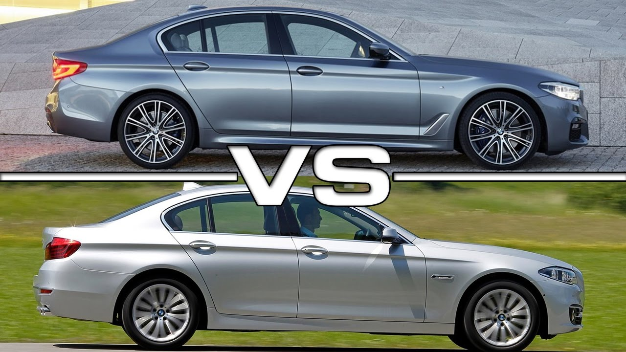 2017 Bmw 5 Series Vs