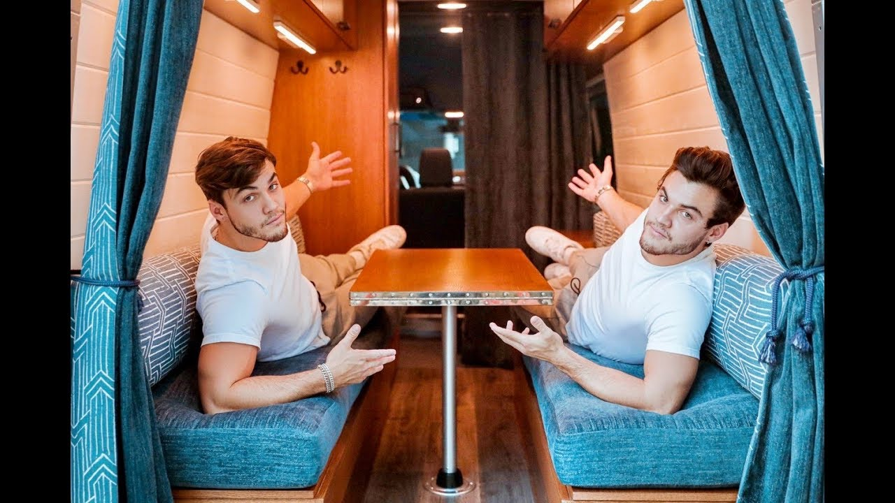 VAN TOUR | Custom Built For Twins To Live In image