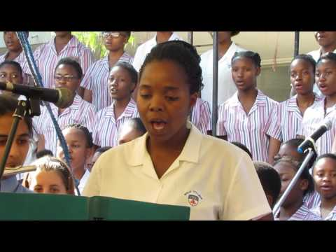 Drop in the Ocean from Sing Up Song Bank.  Speech Day October 2016