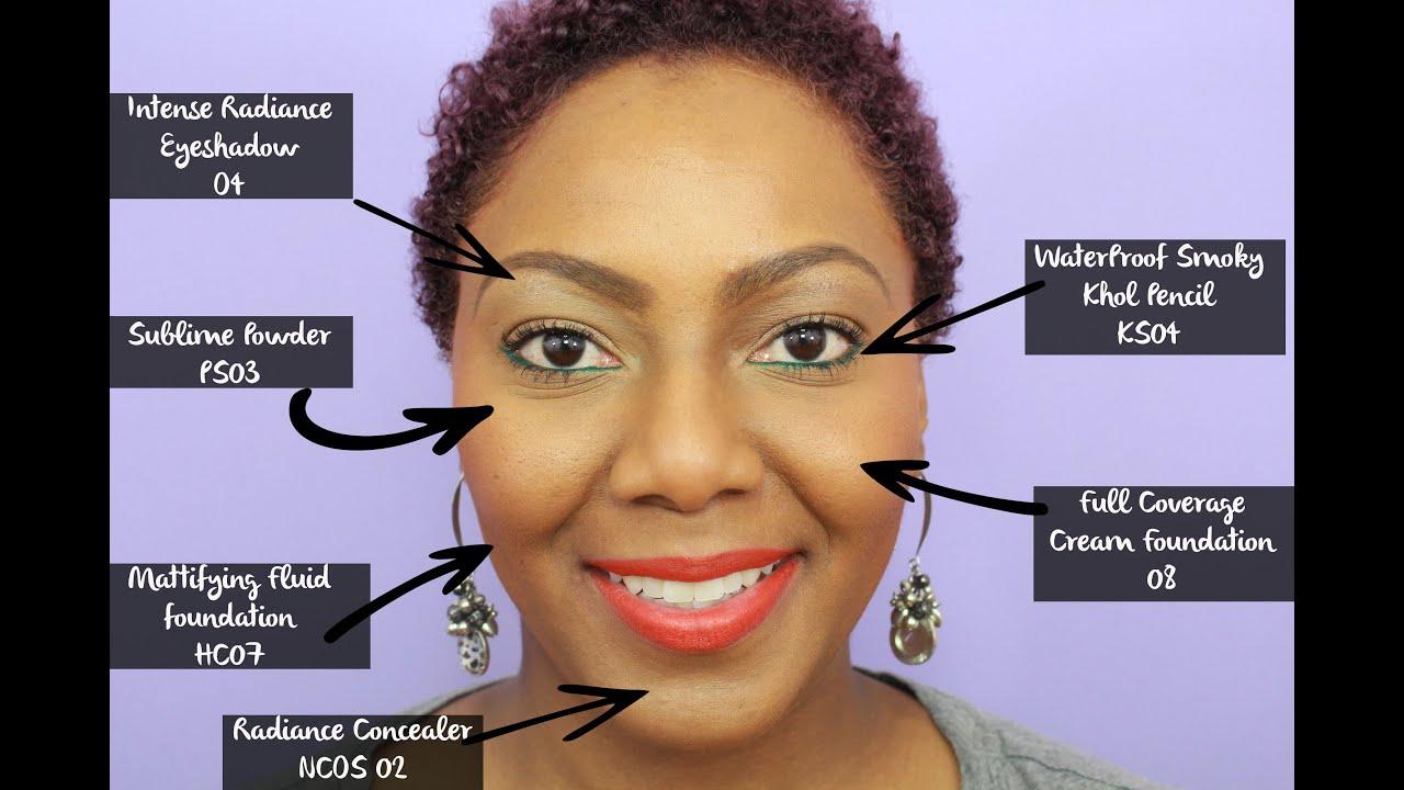 Black up makeup