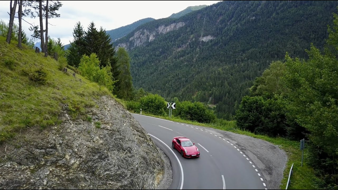 Porsche Travel Experience - Central Alps - YouTube
