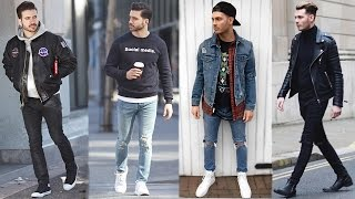 MEN'S STREETSTYLE LOOKBOOK | How to Style Streetwear 2017 | ALEX COSTA