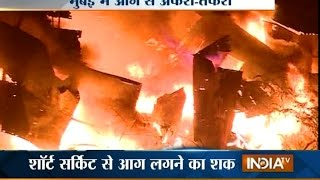 Video Massive Fire Breaks Out at a Scrap Godown in Mumbai's Kurla Area download MP3, 3GP, MP4, WEBM, AVI, FLV Oktober 2018