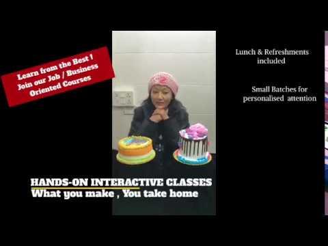 Cake Baking Classes in Delhi | Baking & Pastry Classes Delhi | Professional Baking Classes Delhi