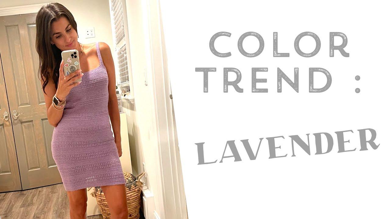 Summer Color Trend : Lavender