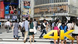 Tokyo : Walking around Shibuya - 渋谷 -4K Ultra HD