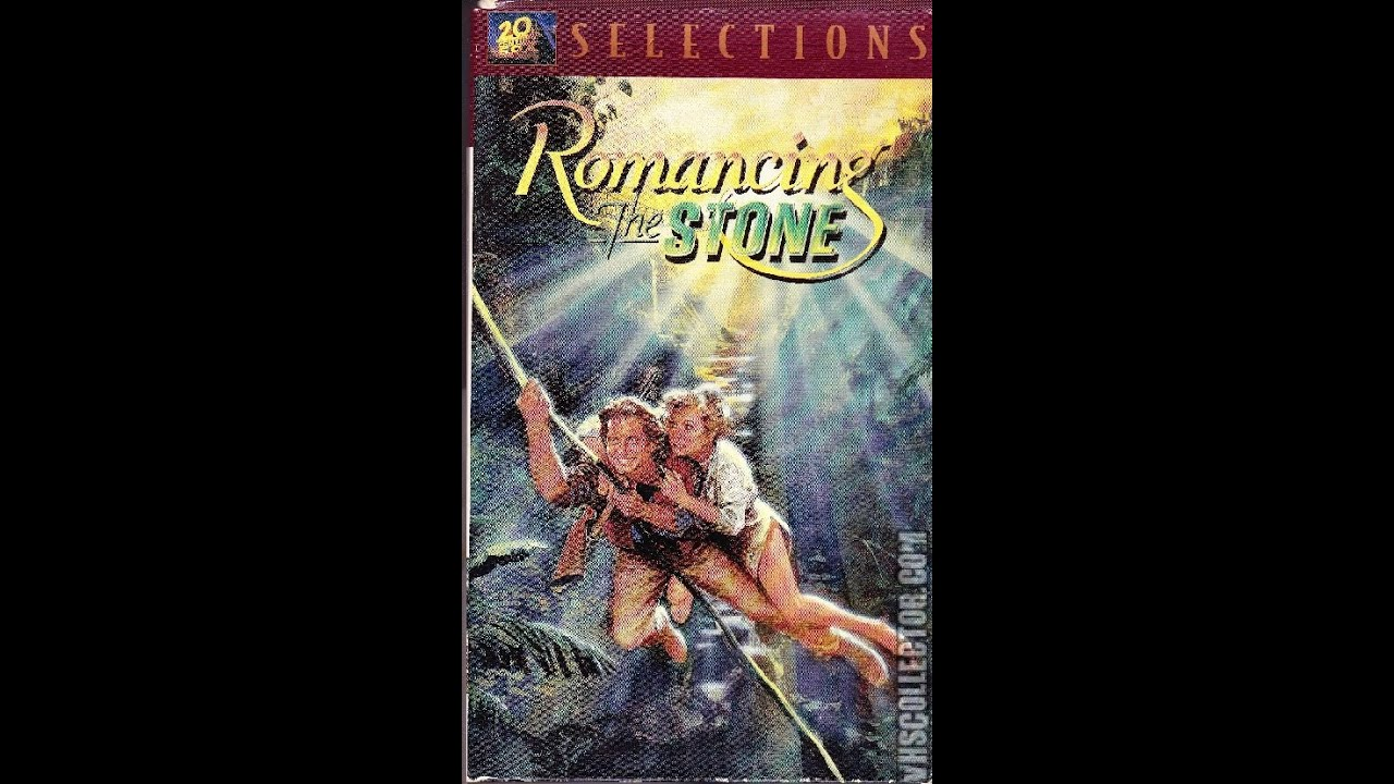 The Vcr From Heck Fifty Cartoons Week Tuesday 50: Opening To Romancing The Stone 1997 VHS