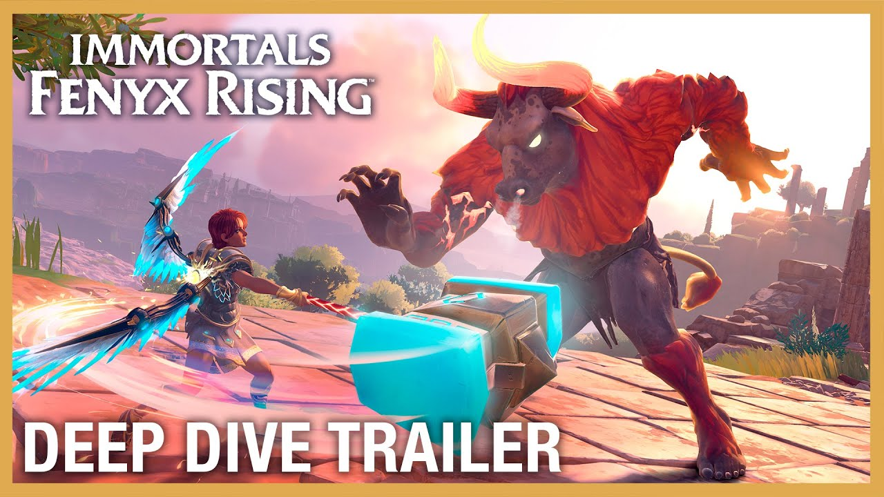 Immortals Fenyx Rising: Deep Dive Trailer | Ubisoft