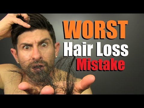 #1 Hair Loss MISTAKE You Can Make! (How To KEEP Your Hair)