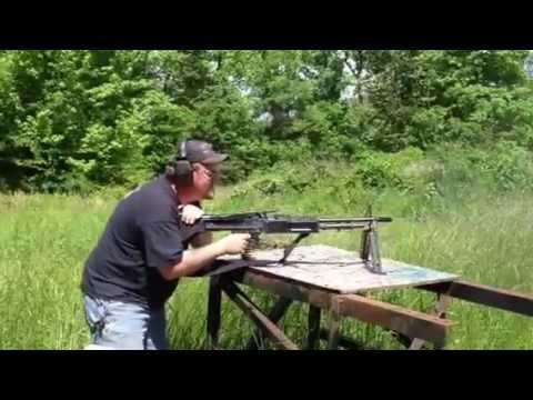 M60E3 Post Sample Machine Gun, Bridgetown Gun Shop