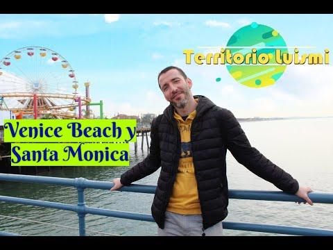 Que ver en VENICE BEACH y SANTA MONICA🎡🎢 + Los mejores 😋 HOT DOGS🌭 - LOS ANGELES