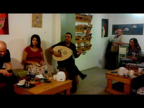 BASEL ZAID live @ Aristotle Cafe, Alwebdeh, Amman, Jordan, 05-AUG-2017