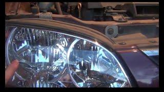 Замена лампы габаритов W5W на Kia - Spectra
