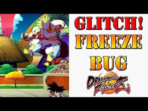 Dragon Ball FighterZ - Showcasing the Base Goku freeze glitch