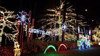 DJI Osmo Pocket At Night Test - Unbelievable Home Display of 500k Christmas Lights in GA