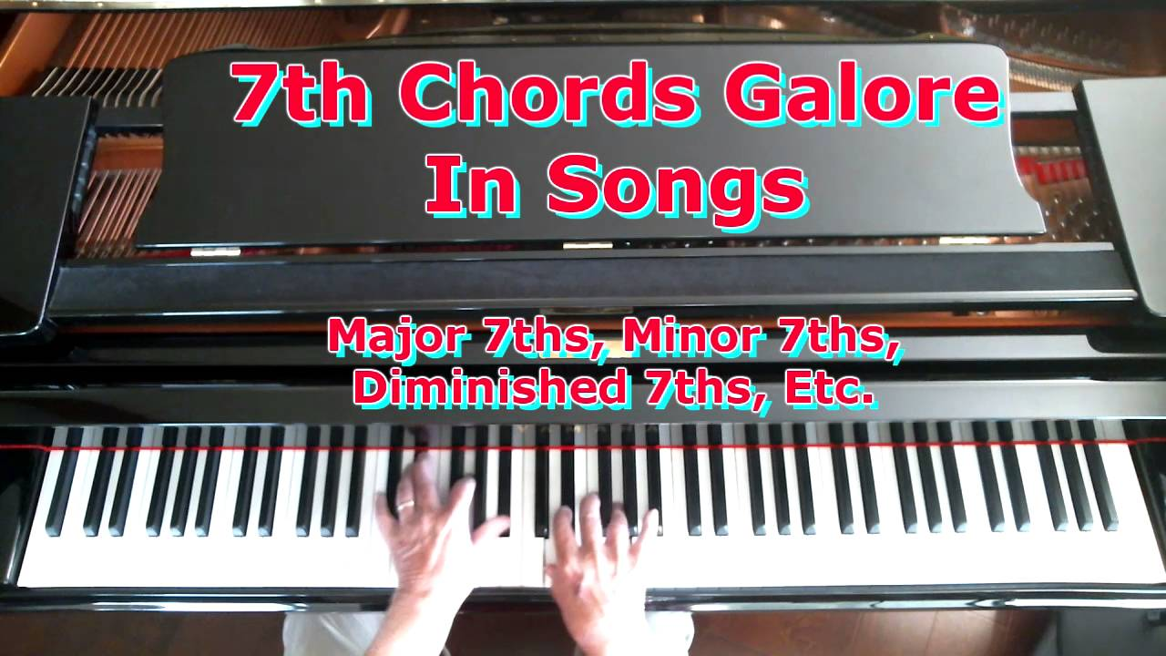 Finding Different 7th Chords in Songs | Piano Lessons for Adults