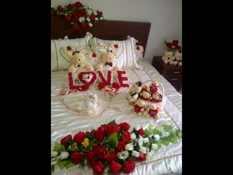 Romantic Bridal Wedding Bedroom Decoration Ideas Youtube
