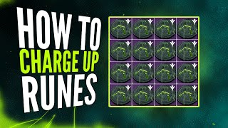 Destiny - How to Charge Stolen and Antiquated Runes