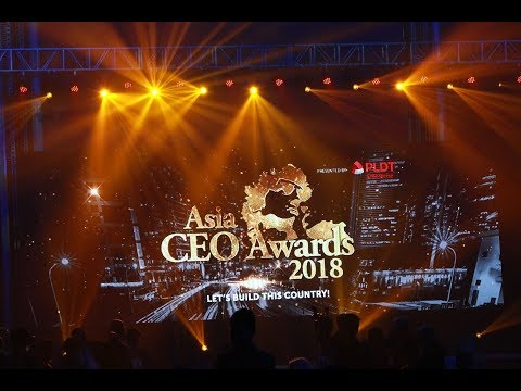 Asia CEO Awards Night 2018
