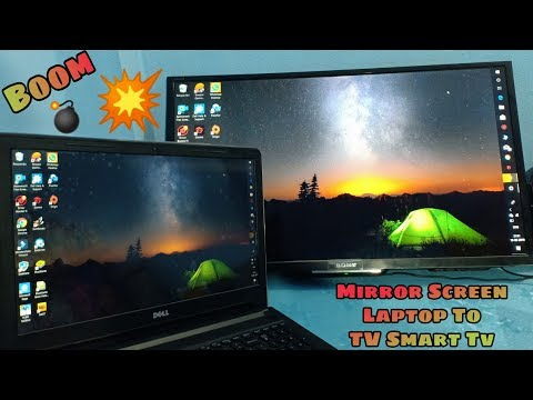 How To Mirror Screen From Laptop To LED TV