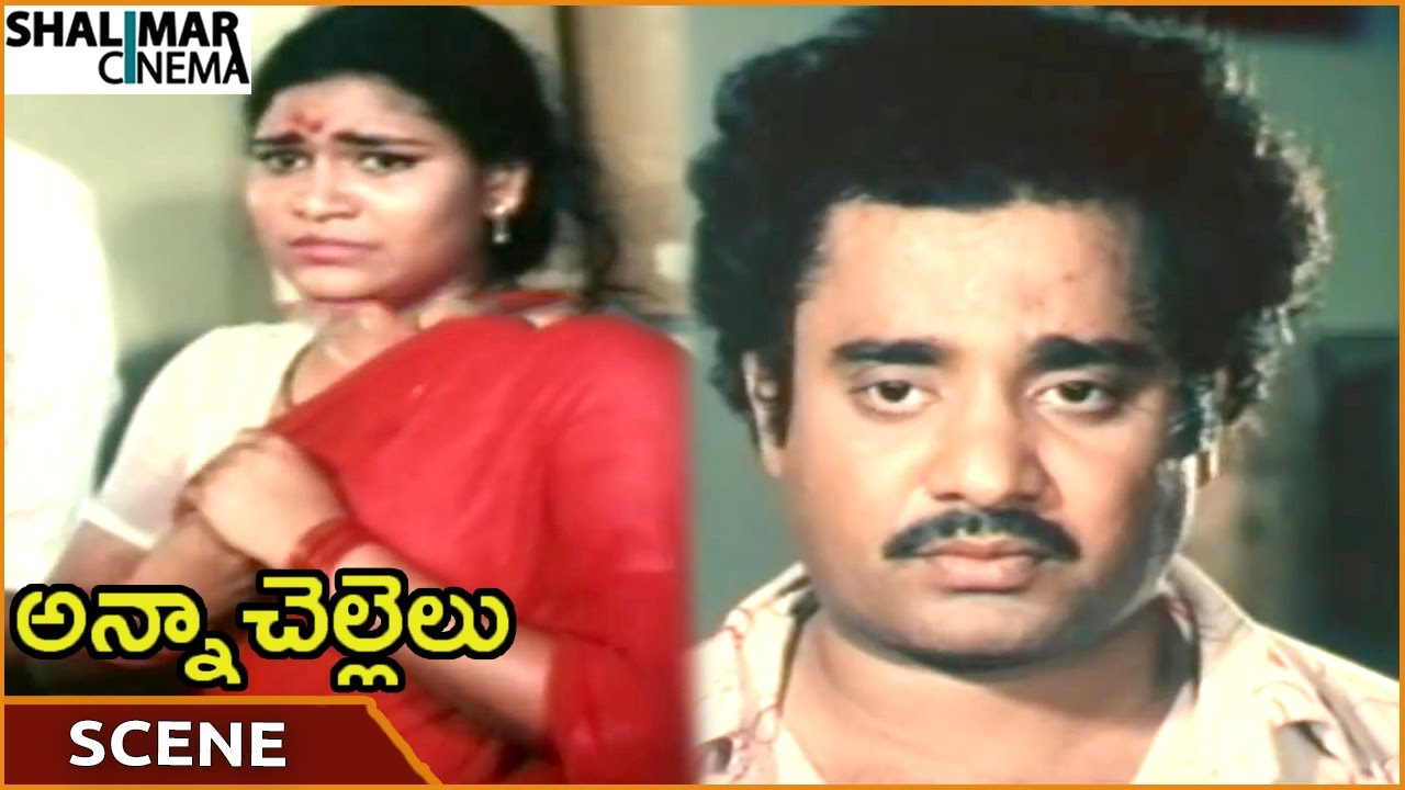 Anna Chellelu Movie  Prasad Babu Apologize To Women For Cheating   Shoban Babu  Shalimarcinema