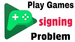 Fix Problems Signing in to Google Play Games or other apps | Login Problem | Create Account Problem