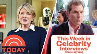 Martha Stewarts' Turkey Tips, Bobby Flay's Carving 101 | Celebrity Interviews | TODAY