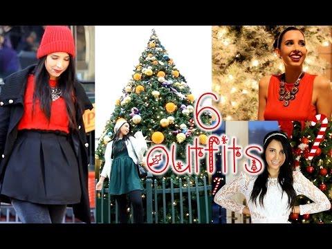 6 ideas para vestir en navidad youtube for Ideas para vestir