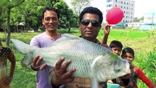 Real Catla Fishing By Fishing Guru Sumon