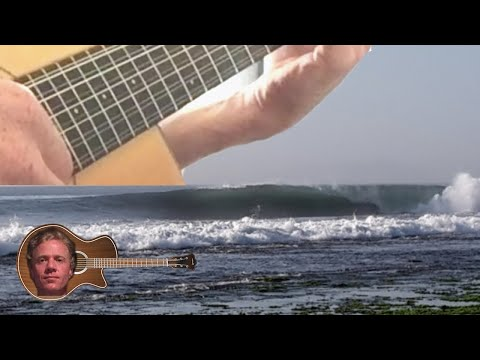 MGTOW Happy Days with a Guitar and Waves - Davie504 Slap Intro Surfing Bali, Indonesia 2019
