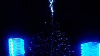 Christmas tree made from hard drive parts - spooky!