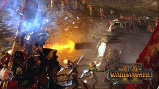 HAMMER & TANK-VIL - Empire vs High Elves // Total War: Warhammer II Online Battle