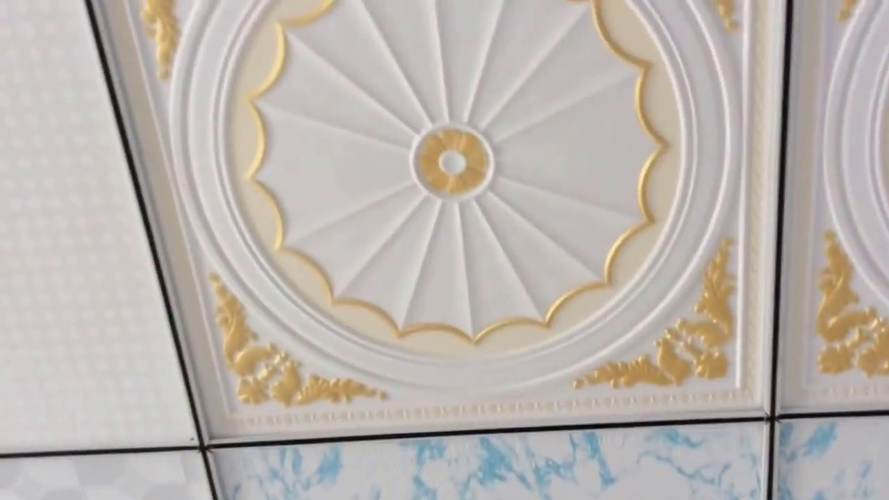 Shangdong Pvc Gypsum Ceiling Tile Factory Visit Youtube