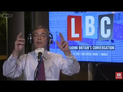 The Nigel Farage Show: The EU's Response to Catalonia. Live LBC - 3rd October 2017