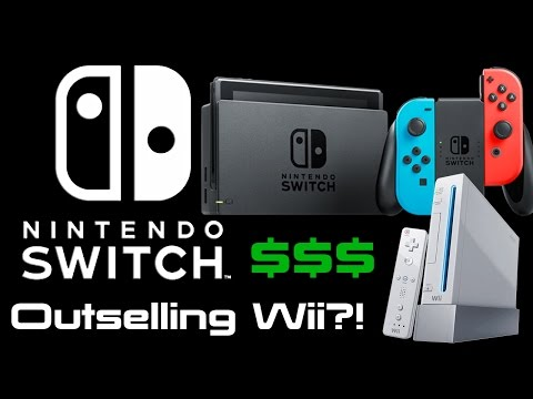 Nintendo Switch News - Outselling Wii?!