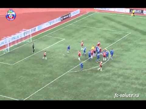 Незасчитанный гол Дениса Ткачука в ворота «Сибири»
