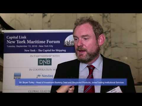 2016 New York Maritime Forum - Interview with Mr. Bryan Turley