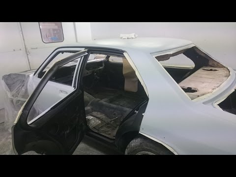 Paint & Prep work LH Torana Part 7