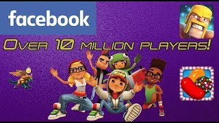 Most Played Facebook Games Today!