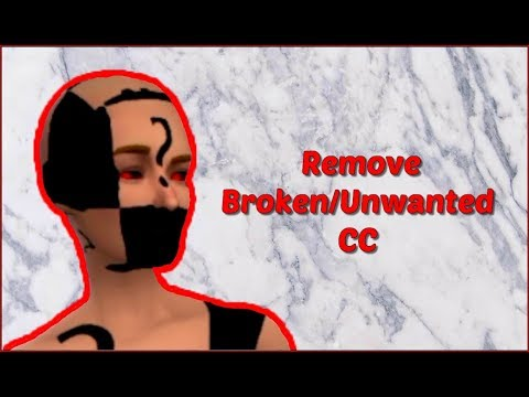 SIMS 4 MAC| Find and remove broken/unwanted CC