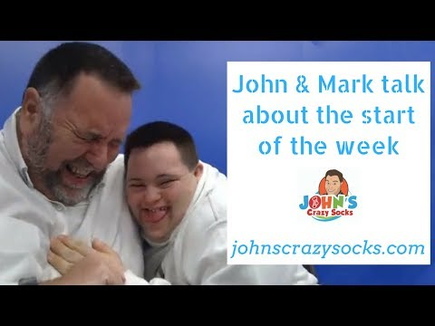 John and Mark Talk about the Start of the Week ( John's Crazy Socks) 3/26/2018